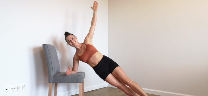 Zostań w domu, ale nie siedź! Zajęcia Fitness i Pilates on-line.